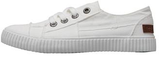 236e8317de Blowfish Womens Cablee Canvas Shoes White Colour Washed
