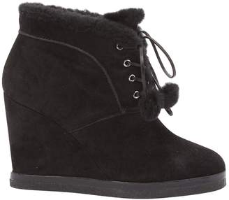 Michael Kors Black Suede Ankle boots