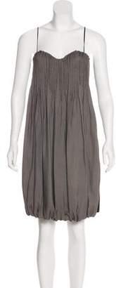Alexander Wang Wool & Silk Knee-Length Dress