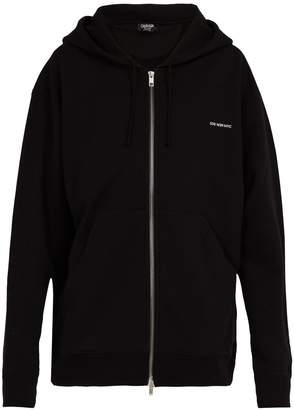 Calvin Klein Established oversized cotton hooded sweatshirt