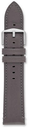 Fossil 22mm Gray Leather Watch Strap