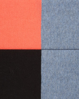 Minnie Rose Pow Block-Stripe Pullover