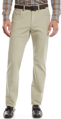 Peter Millar Men's Crown Vintage 5-Pocket Canvas Pants