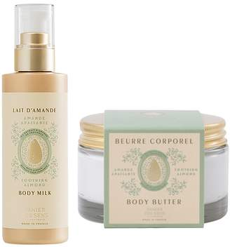 Panier Des Sens Sweet Almond Body Milk and Body Butter Duo
