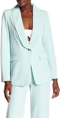 Rachel Roy Easy Single Button Blazer
