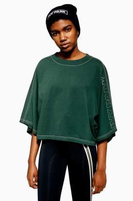 Ivy Park Stitch Crop Kimono Top
