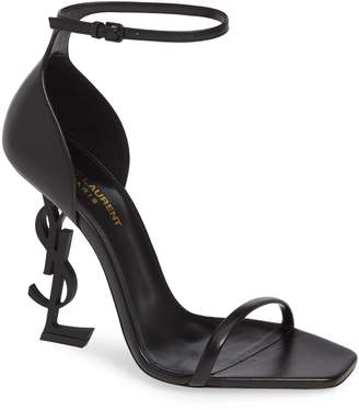 Saint Laurent Opyum Ankle Strap Sandal