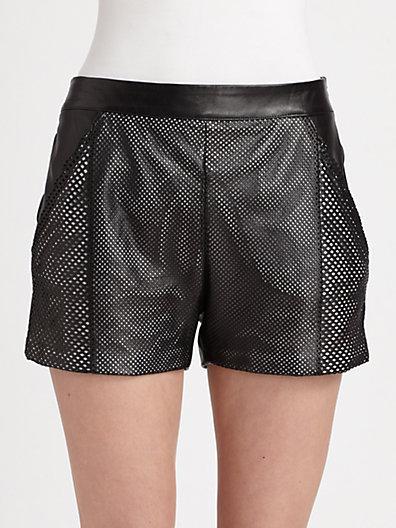 Ohne Titel Leather Shorts