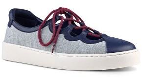 Women's Nine West Pylot Lace-Up Sneaker $88.95 thestylecure.com