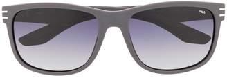 Fila rectangular-frame sunglasses