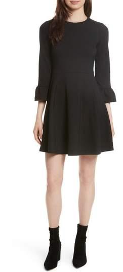 Women's Kate Spade New York Ponte Knit Fit & Flare Dress