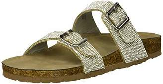 Madden-Girl Women's Brando-R Slide Sandal M US