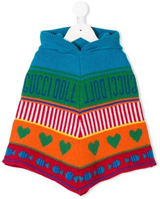 Gucci Kids knitted poncho