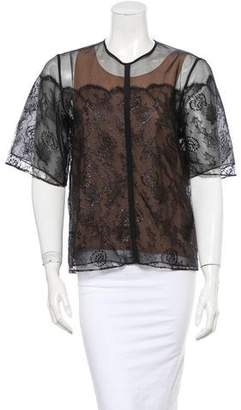 Chloé Chantilly Lace Top w/ Tags