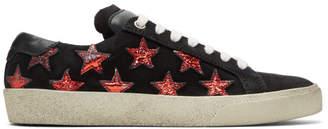 Saint Laurent Black Suede Court Classic California SL/06 Sneakers