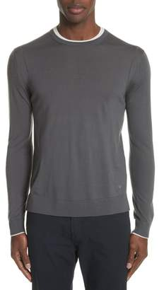 Emporio Armani Slim Fit Wool Sweater