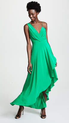 Yigal Azrouel High Low Draped Dress