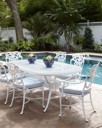 DAY Birger et Mikkelsen Brown Jordan Lily Oval Outdoor Dining Table