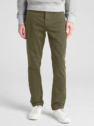Gap Vintage Wash Khakis in Skinny Fit with GapFlex