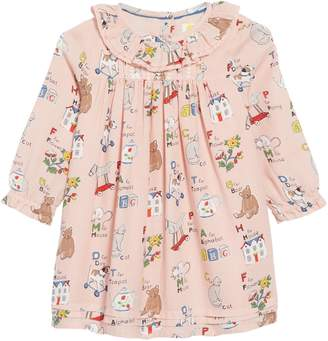 Boden Mini Nostalgic Pleated Dress