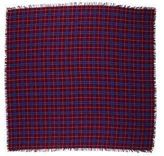 The Kooples Plaid Wool-Blend Scarf