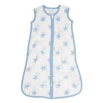 Aden Anais Aden By Aden + Anais Sleeping Bag, 100% Cotton Muslin, Dapper - Stars, 0-6 Months