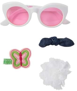 Little Me Sunglasses & Hair Set (Baby Girls)