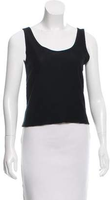 Lemaire Sleeveless Scoop Neck Top