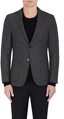 Officine Generale Men's Checked Wool Flannel Two-Button Sportcoat