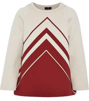 Anya Hindmarch Two-Tone Appliquéd Neoprene Top