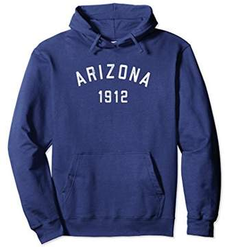 Arizona Hoodie 1912 Arizona Hooded Sweatshirt Vintage Retro