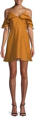 Keepsake Ruffled Mini Dress