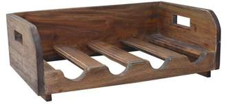 A&B Home Bottle Rack, Recycled Wood