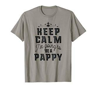 Family Tee Shirts Keep Calm I'm Going To Be A Pappy T-shirt