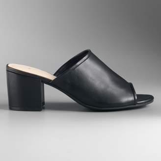 Vera Wang Simply Vera Shirley Women's High Heels