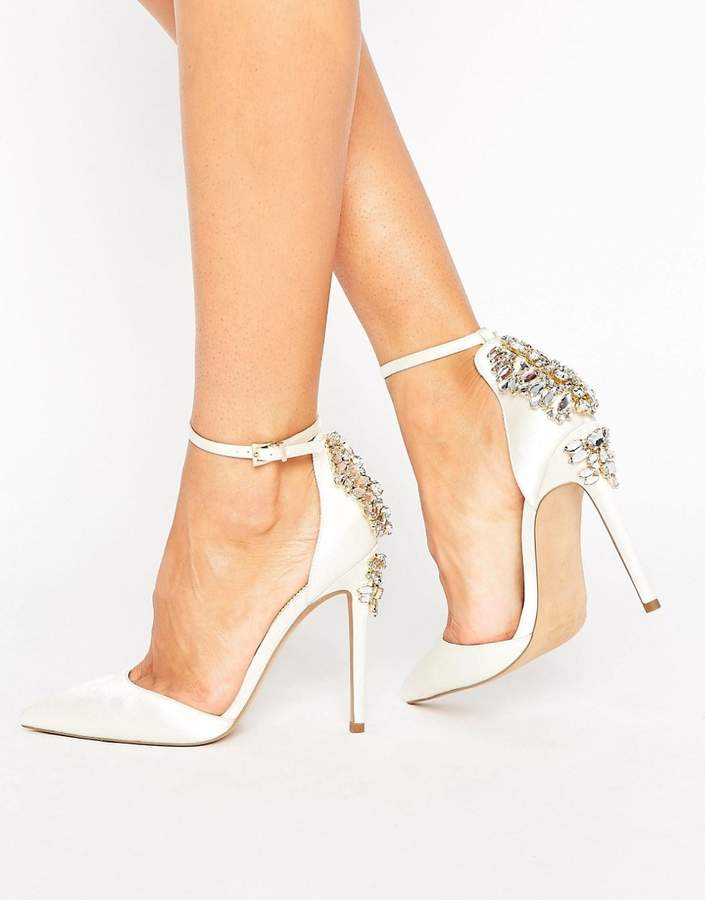 AsosASOS PALAIS Bridal Embellished High Heels