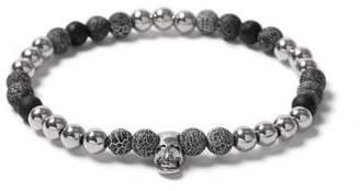 Topman Mens Grey Gray Skull Bracelet*