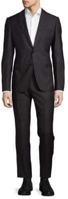 Armani Collezioni Button-Front Suit