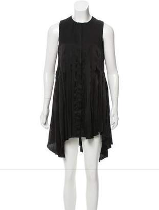 Pierre Balmain Silk Sleeveless Dress