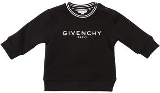 Givenchy Logo Printed Cotton Sweatshirt