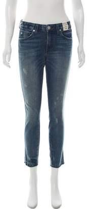 Amo Mid-Rise Stix Jeans w/ Tags