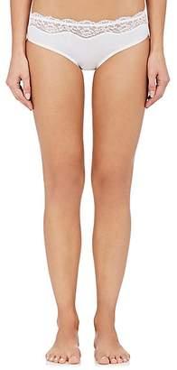 Zimmerli Women's Pure Comfort Stretch-Cotton Briefs - White