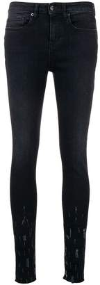 IRO skinny distressed jeans