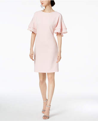 Jessica Howard Tiered-Sleeve Shift Dress