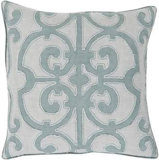 "Art of Knot Aberdeen 18"" x 18"" Pillow Cover"