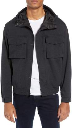 Club Monaco Herringbone Tech Jacket