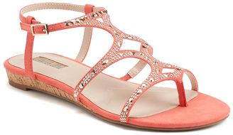 Jennifer Lopez Women's Jeweled Wedge Sandals $49.99 thestylecure.com