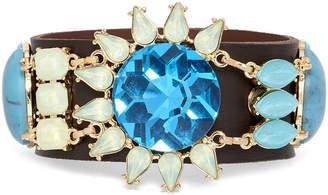 Natasha Accessories Natasha Leather Bracelet