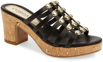 Cordani Keane Studded Slide Sandal