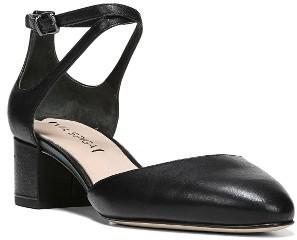 Women's Via Spiga Dinah Ankle Strap D'Orsay Pump $195 thestylecure.com